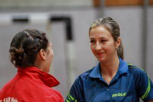 Nathalie Winter steuerte zwei wichtige Einzelsiege zum 8:3-Sieg bei