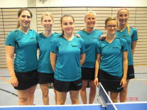 Optimistisch und voller Selbstvertrauen: Die Heidesheimer Damenmannschaft