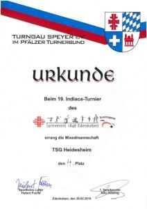 Mixed, TSG Heidesheim, 4. Platz