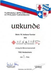 Männer, TSG Heidesheim, 5.Platz