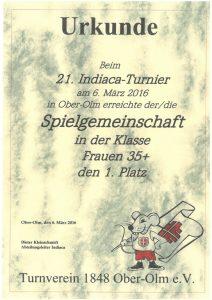 Spielgemeinschaft Frauen 35+, TSG Heidesheim/TV Ober-Olm/Tus Hackenheim