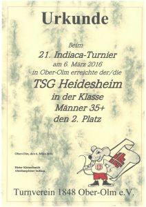 Männer 35+, TSG Heidesheim