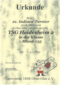 Mixed 35+, TSG Heidesheim 2