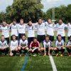 B-Junioren-Fussballer zu Beginn Saisonvorbereitung, 07-2016