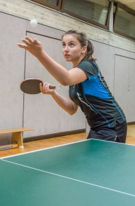 Die erst 15-jährige Valerie Smeljanski beherrschte ihre Gegnerinnen nach Belieben.