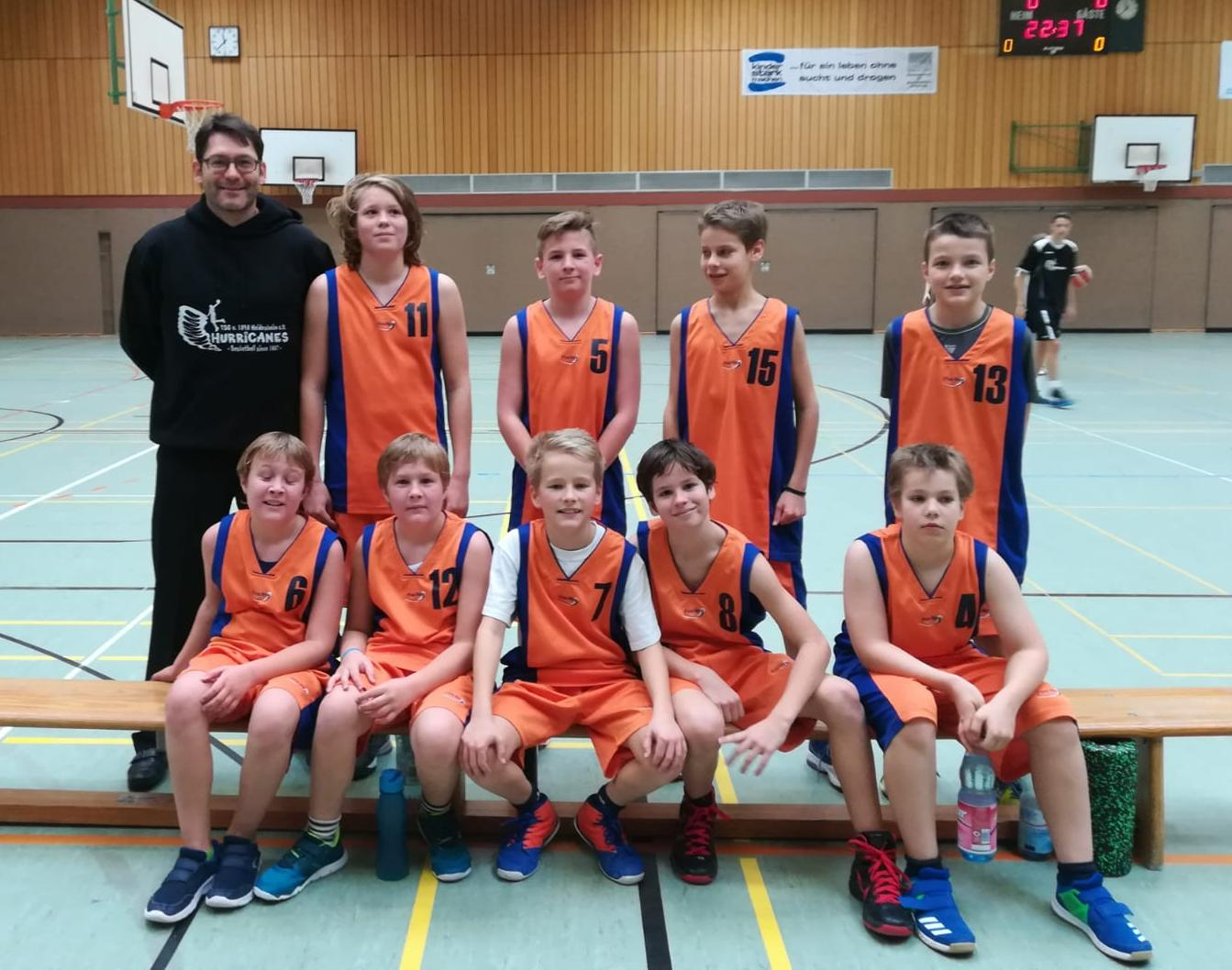 TSG Heidesheim - HURRICANES, U14 männlich