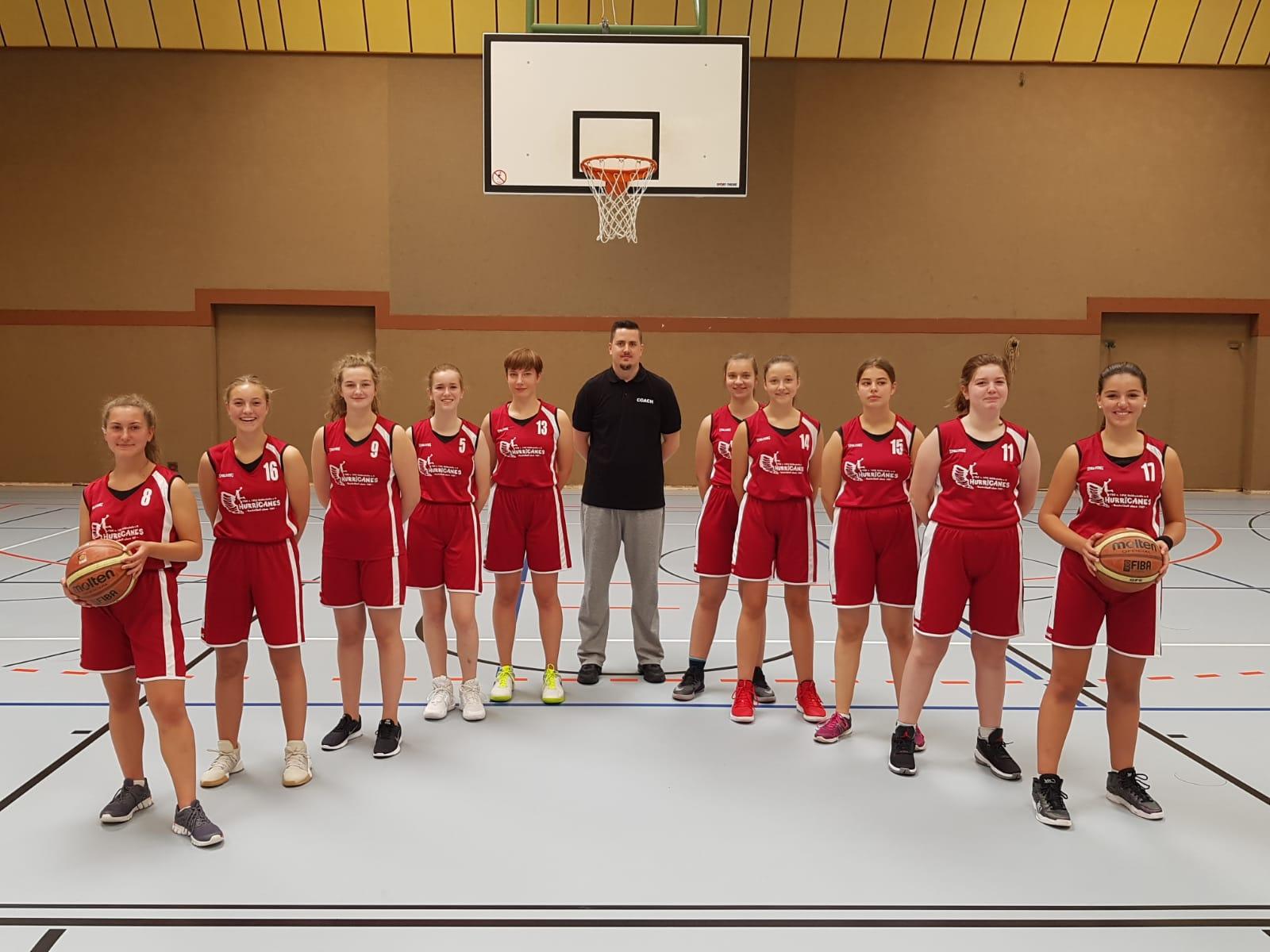 TSG Heidesheim - HURRICANES, U16/U18 weiblich